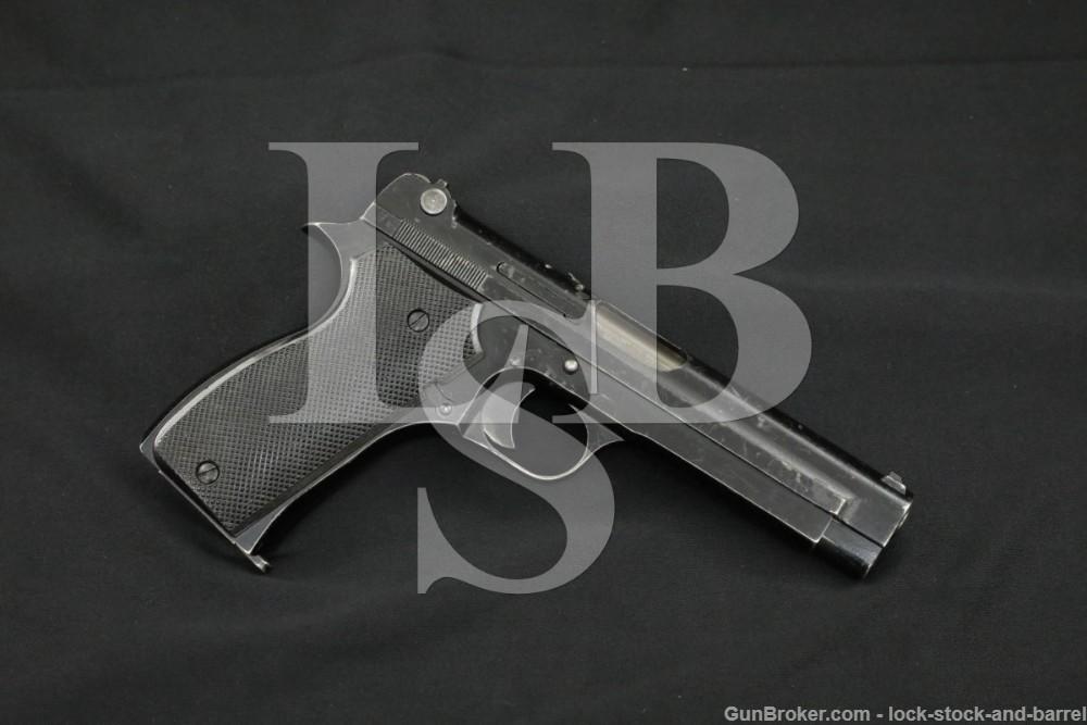 Nazi Occupied WWII French SACM 1935A 7.65 Semi-Auto Pistol, 1941-1944 C&R