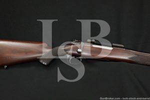 Niedner Rifle Corp. Dowagiac Mich. Custom 7x57mm Mauser Sporting Rifle, C&R