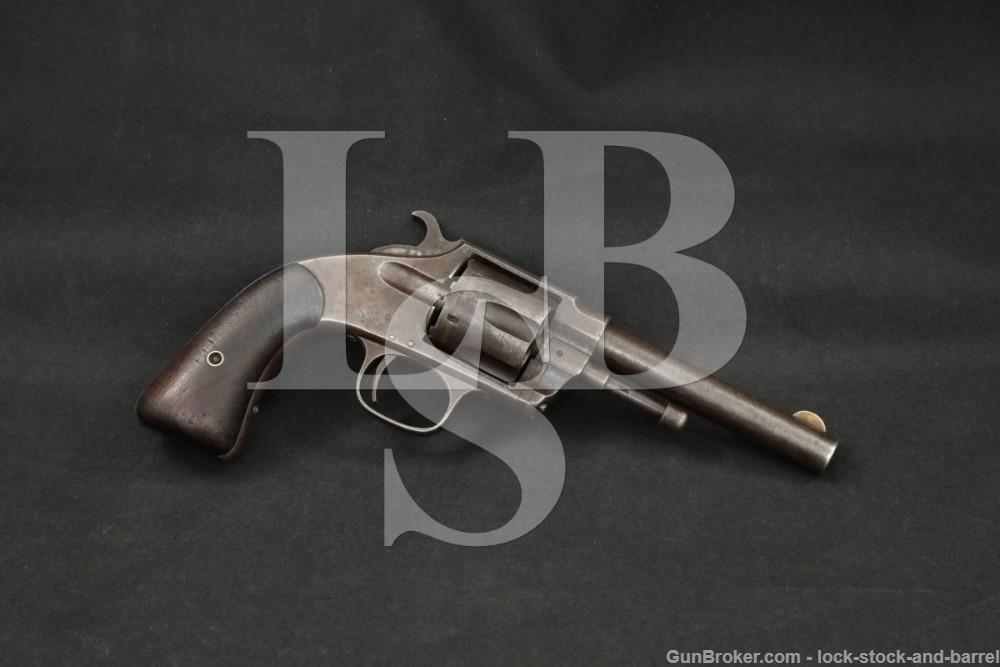 RARE Hopkins & Allen XL Navy .38 Rimfire 38-100 SA Revolver, Antique
