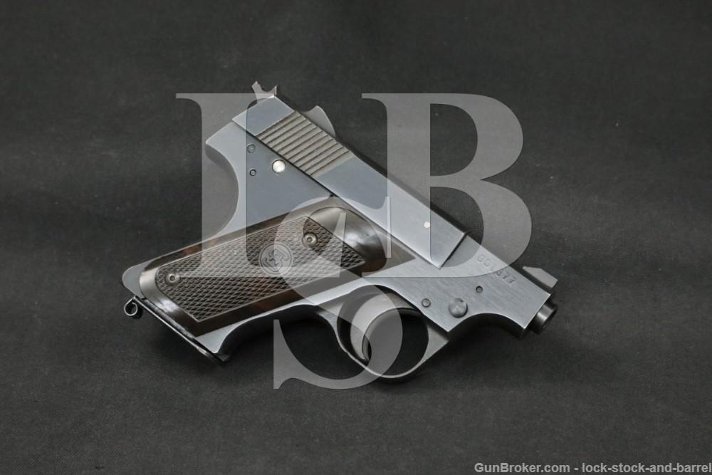 RARE Sterling Model 287 PPL .380 Auto Semi-Automatic Pistol 1971-1972 C&R