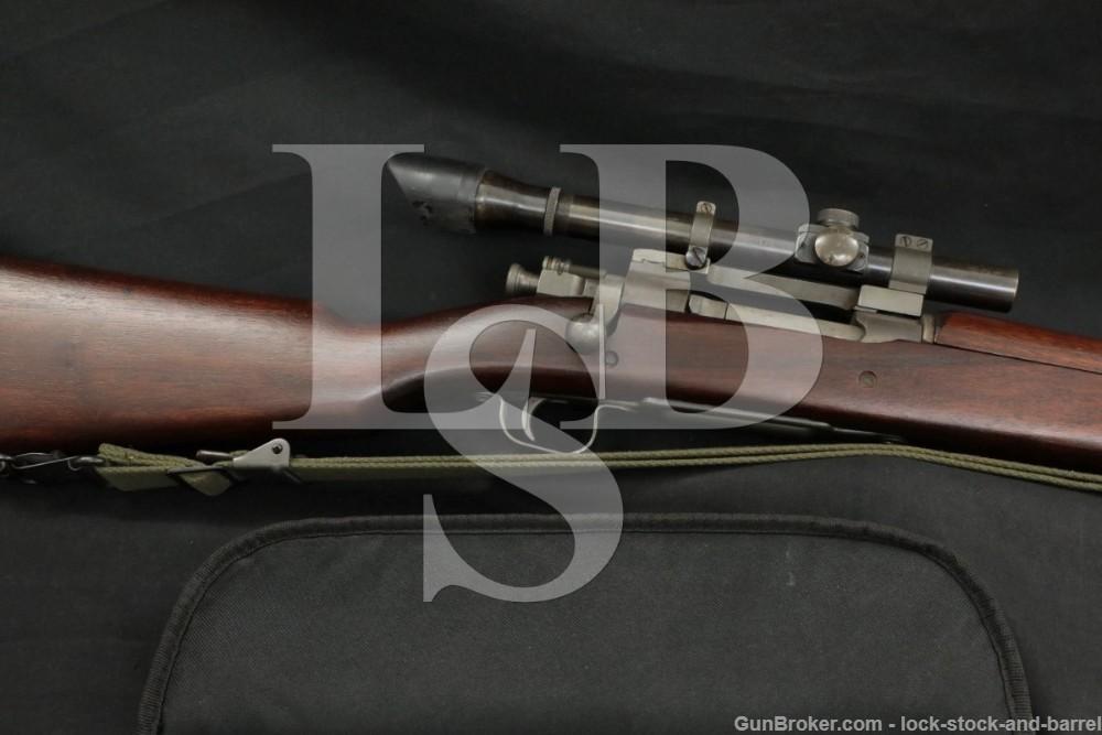 Remington 03A4 Sniper 1903A4 Z Prefix 30-06 Sprg WWII Bolt Action Rifle C&R
