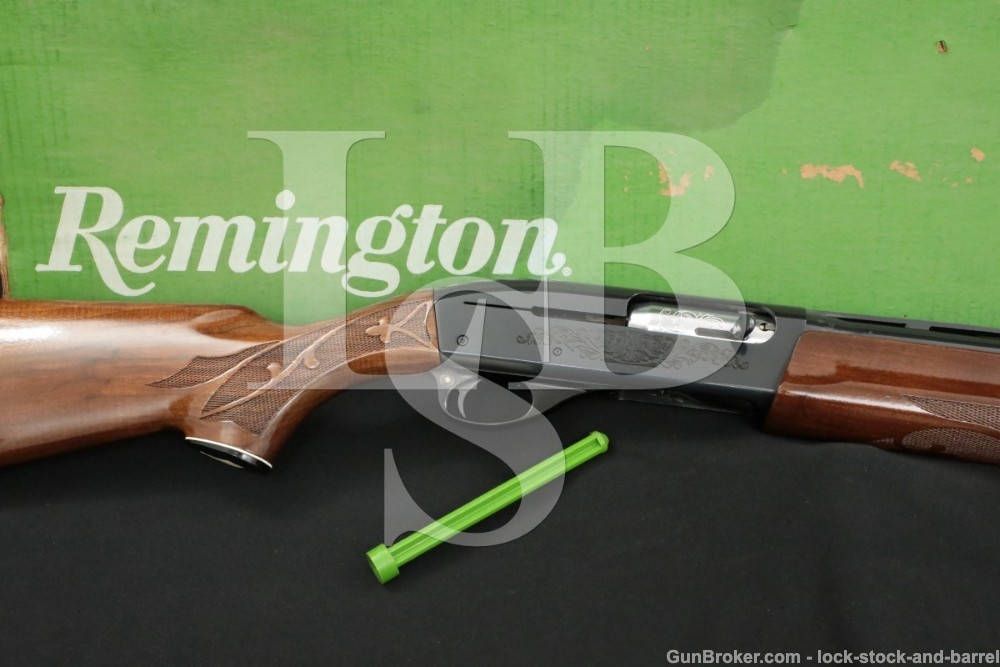 "Remington Model 1100 12 GA 28"" MOD Semi-Automatic Shotgun MFD 1977"