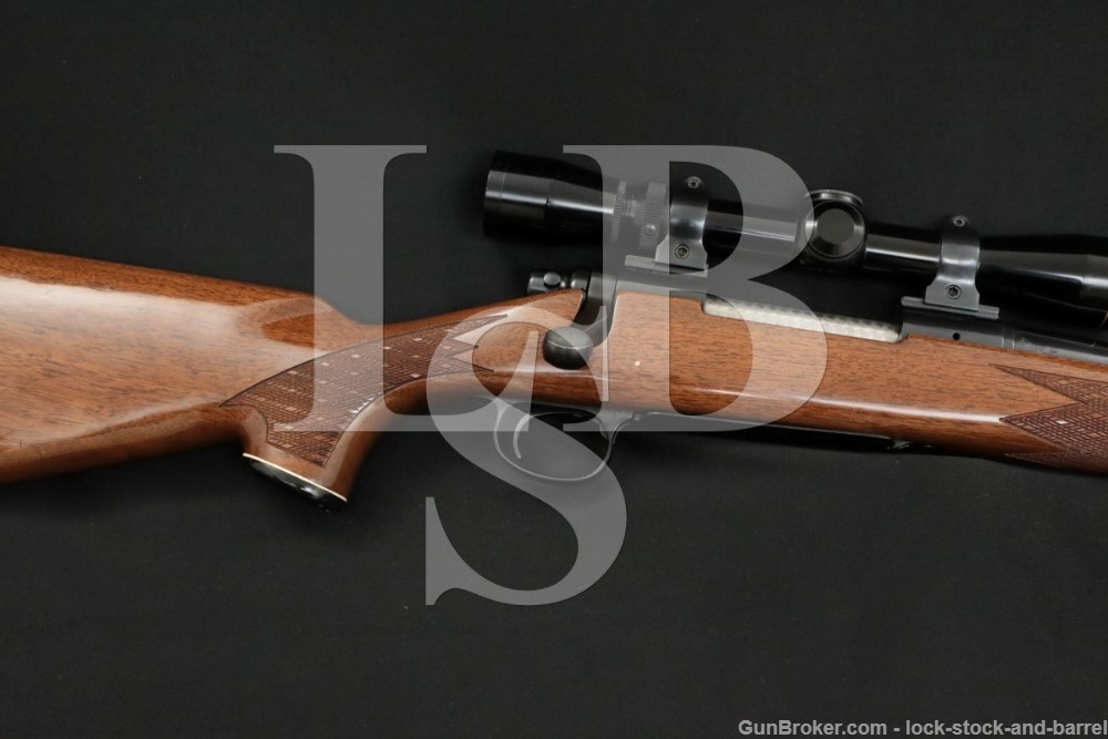 """Remington Model 700 BDL 7mm Rem Mag 24"""" Bolt Action Rifle, MFD 1986"""