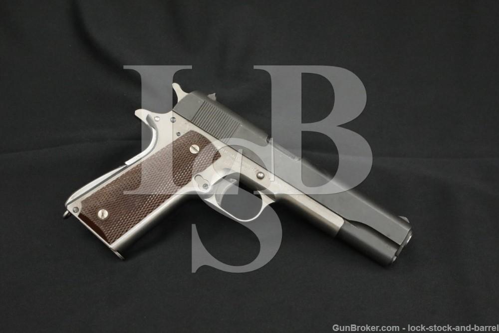 Rock Island Arsenal Rebuilt WWII Remington Rand Model 1911A1, MFD 1943 C&R
