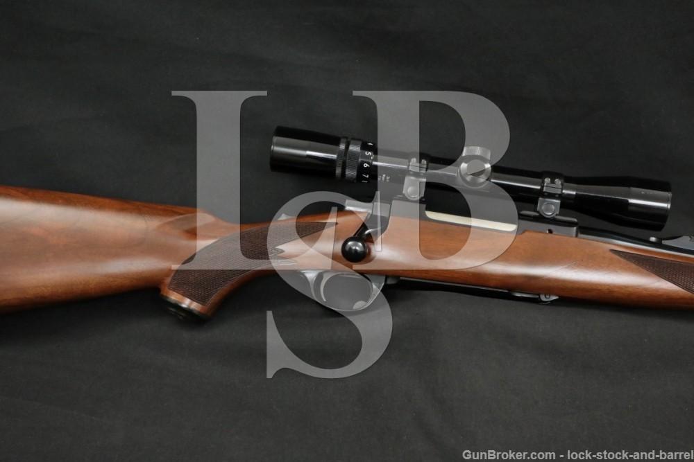 Ruger M77 M-77 .250-3000 Savage Scope Mannlicher Bolt Action Rifle MFD 1984