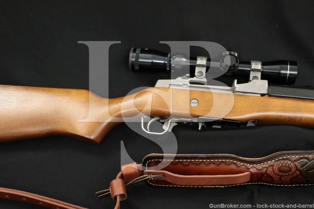 Ruger Mini-Thirty Mini-30 01844 7.62x39 Stainless Semi-Auto Rifle, MFD 1996