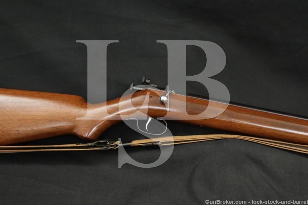 SHARP Winchester Model 60A Target Single Shot .22 LR Bolt Action Rifle, C&R