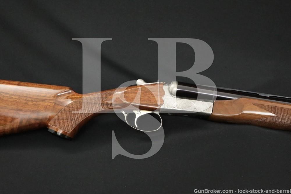 "SKB Model 385 Skeet 28"" Vent-Rib 12 GA SXS Side by Side Shotgun, 1996-2004"