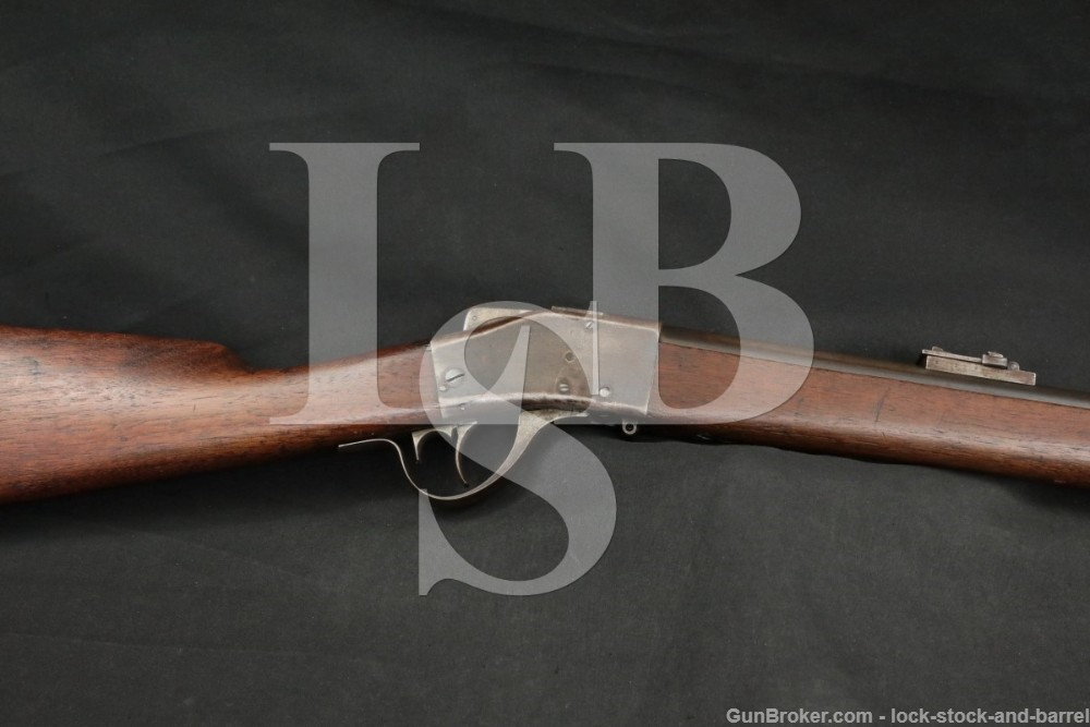 Sharps-Borchardt Model 1878 Military Rifle .45-50 Govt Single Shot Antique