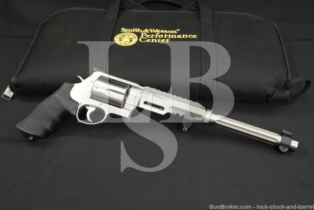 "Smith & Wesson Performance Center 460 XVR 170280 460 Mag 12"" Revolver"