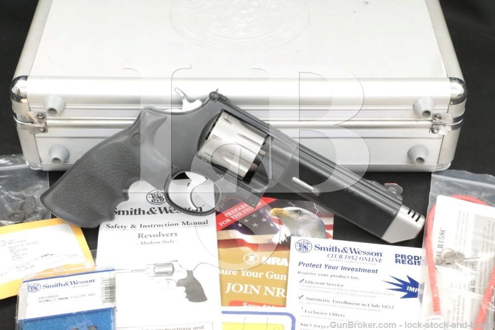 Smith & Wesson Performance Center S&W 627-5 V-Comp .357 Mag Revolver