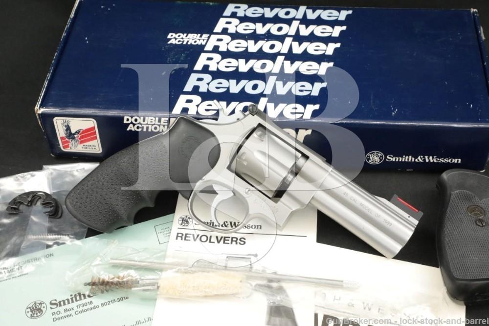 """Smith & Wesson S&W 625-3 The Model of 1989 100925 .45 ACP 4"""" DA/SA Revolver"""