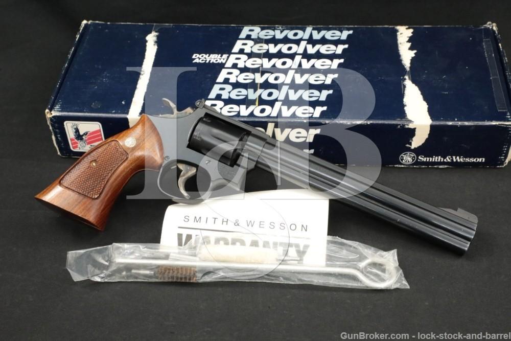 "Smith & Wesson S&W Model 16-4 K-32 Masterpiece .32 Mag 8 3/8"" Revolver 1989"