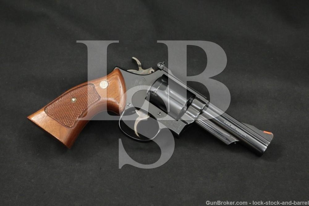 """Smith & Wesson S&W Model 19-3 .357 Combat Magnum 4"""" DA/SA Revolver 1975"""