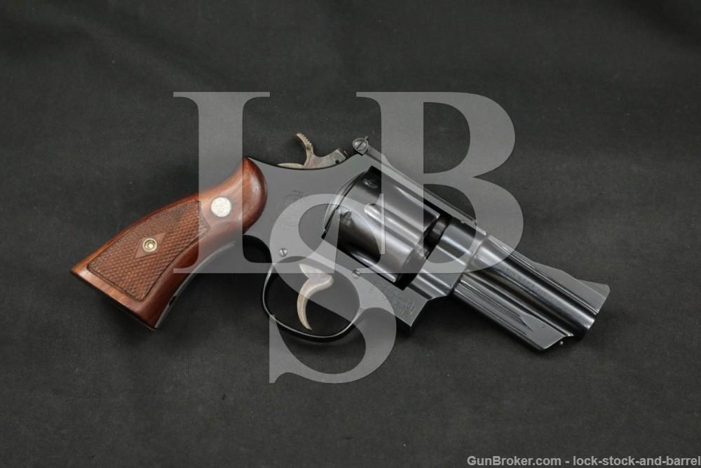 """Smith & Wesson S&W Model 27-2 .357 Magnum 3.5"""" DA/SA Revolver 1966-1967 C&R"""