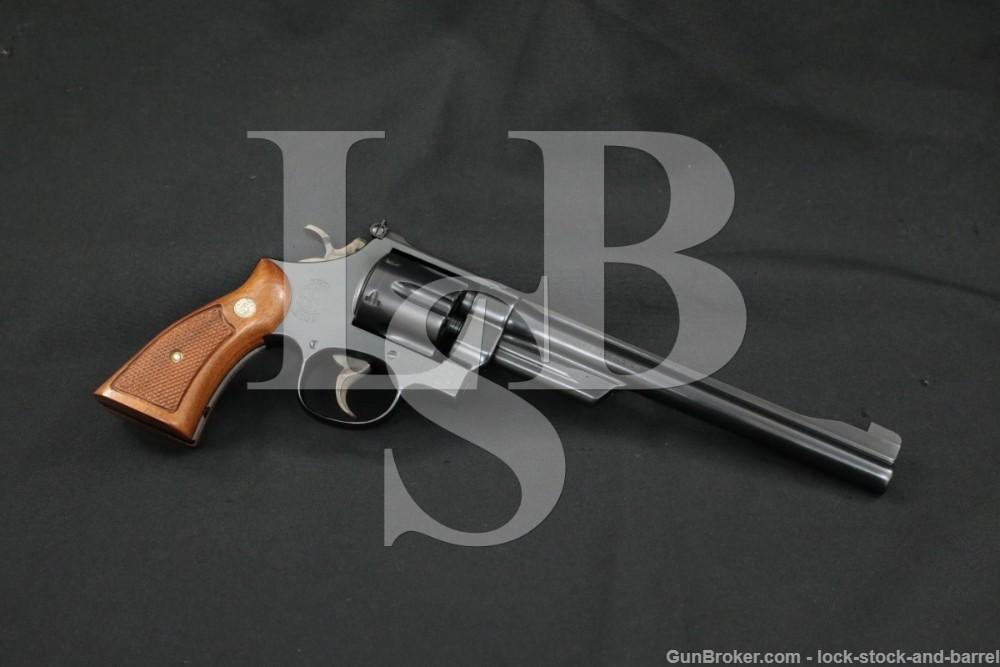 """Smith & Wesson S&W Model 27-2 .357 Magnum 8 3/8"""" DA/SA Revolver, 1973"""
