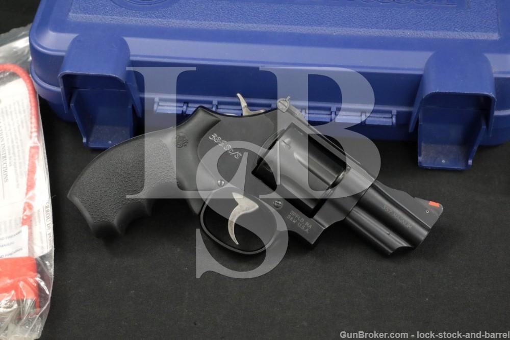 """Smith & Wesson S&W Model 386 Sc/S 163169 .357 Mag 2.5"""" Revolver 2008"""