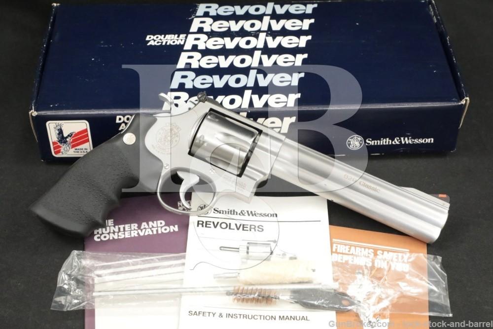 """Smith & Wesson S&W Model 629-3 Classic 103638 .44 Mag 6.5"""" Revolver"""
