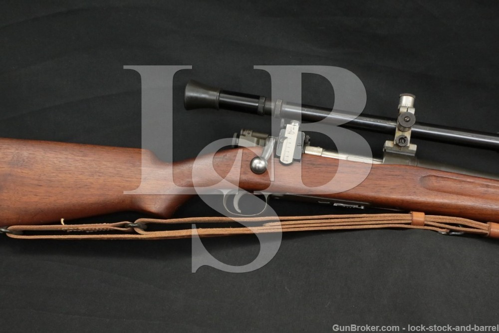 Springfield Armory 1922 M2 .22 LR 1903 Trainer Bolt Action Rifle, 1942 C&R