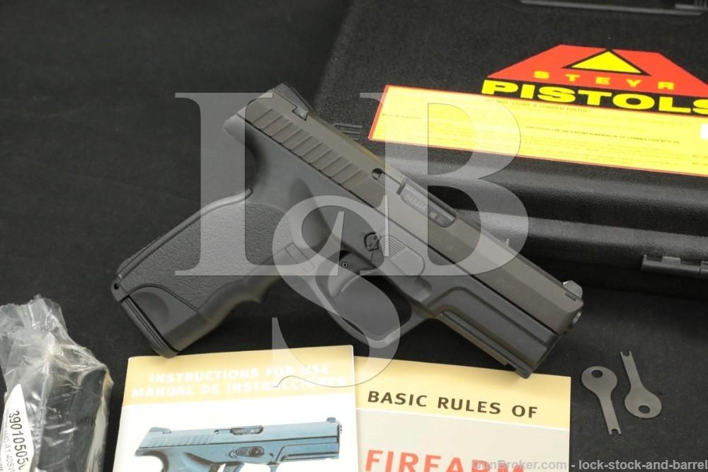 Steyr Mannlicher M40-1A M401A .40 S&W Striker Fired Semi Auto Pistol, 2005
