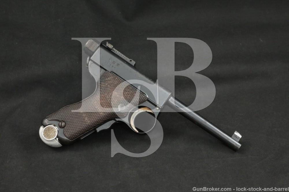 Tokyo Arsenal Japanese Modified Type A Papa Nambu 8mm Semi-Auto Pistol, C&R