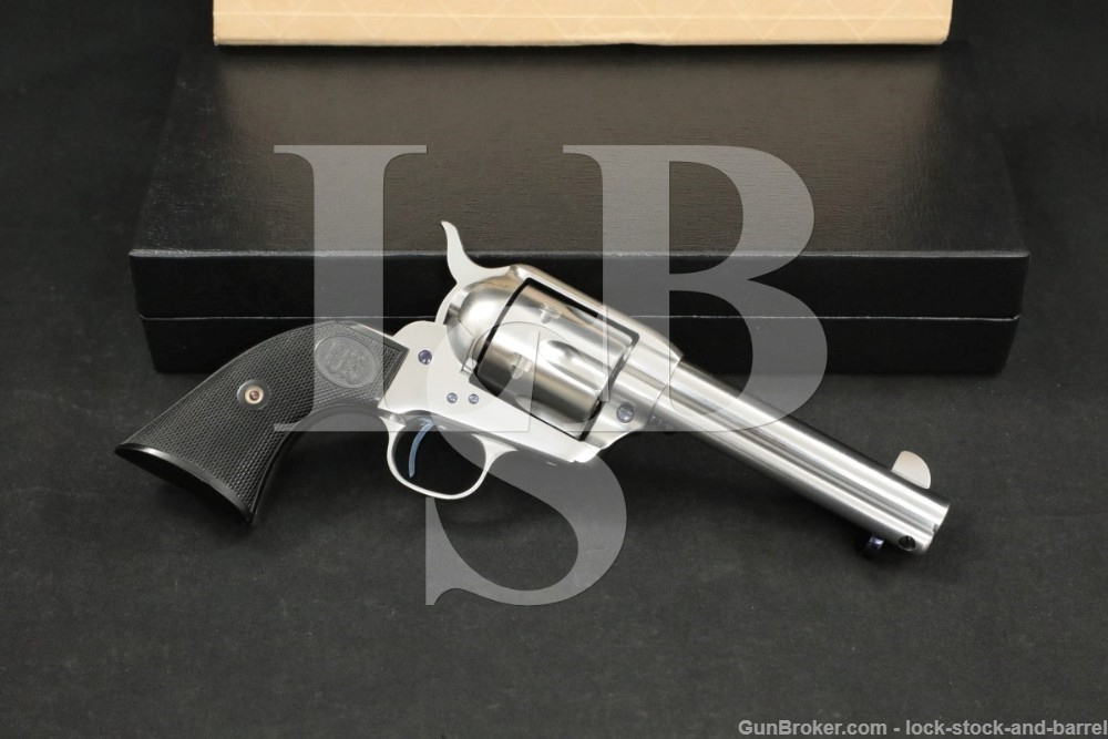 "U.S. Firearms USFA China Camp 4 3/4"" SAA .45 Colt Single Action Revolver"