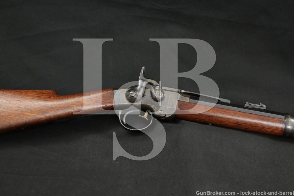 US Civil War Massachusetts Arms Co. Smith Carbine .50 Cal Percussion Rifle
