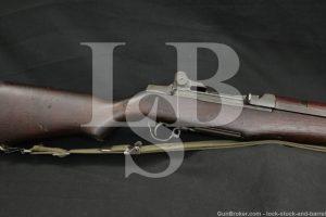 US Springfield M1 M-1 Garand .30-06 Military Semi-Automatic Rifle, 1953 C&R