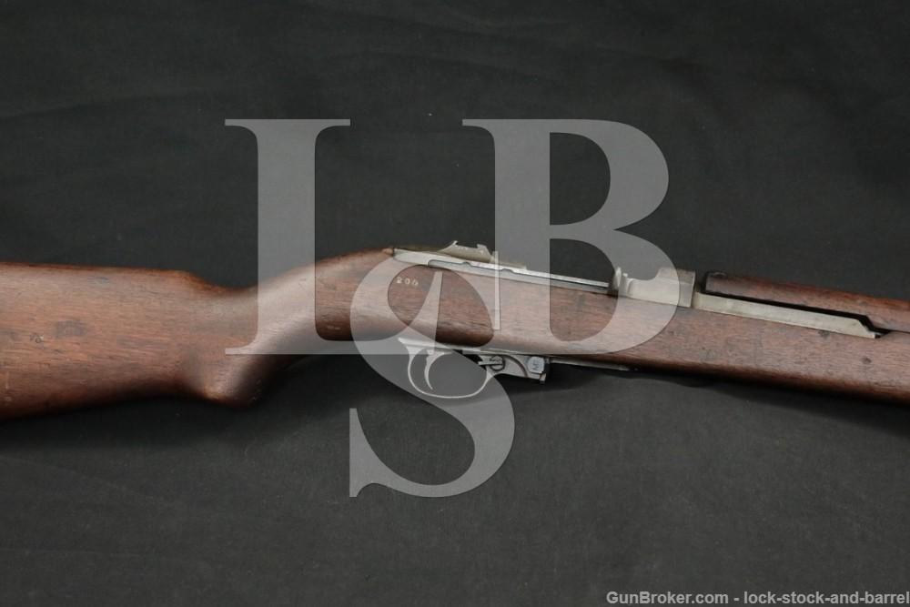 US WWII Saginaw Gear SG M1 M-1 Carbine .30 Semi-Automatic Rifle 1942-44 C&R
