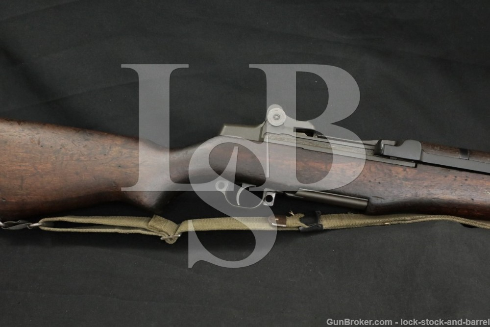 US WWII Springfield M1 M-1 Garand .30-06 Semi-Automatic Rifle, MFD 1940 C&R