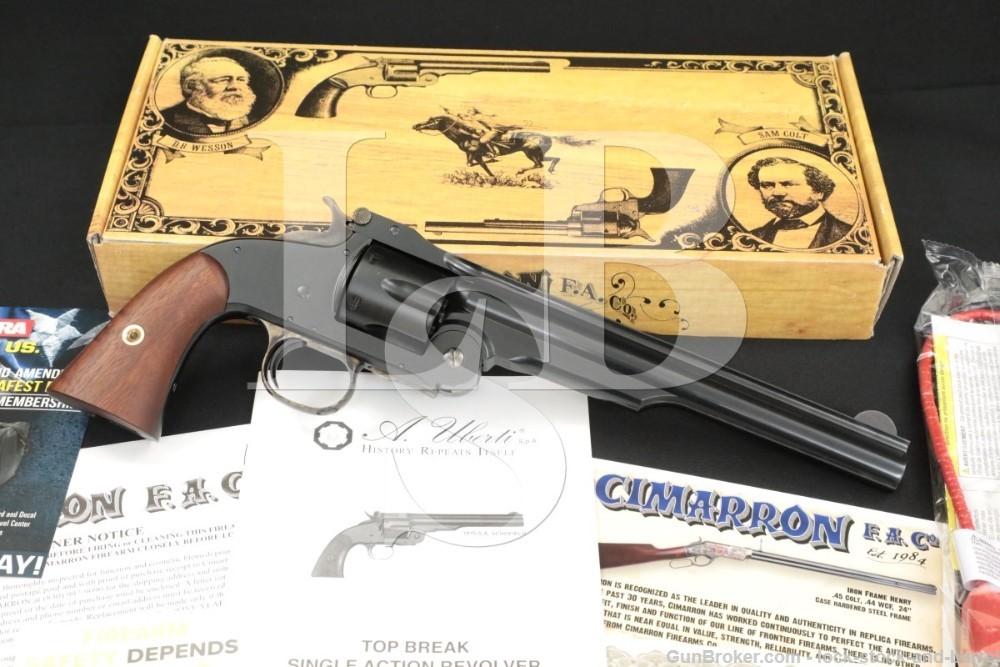 """Uberti American S&W Model NO 3 Schofied 8"""" .45 LC Top Break Revolver 2020"""