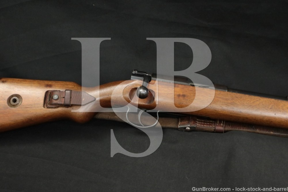 WWII German Walther KKW .22 LR Bolt Action K98 Training Rifle, 1938-44 C&R