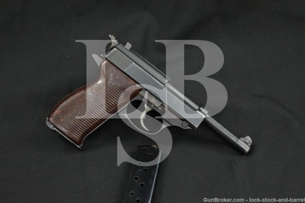 WWII German Walther P.38 P38 P-38 ac45 ac-45 9mm Semi-Auto Pistol, 1945 C&R