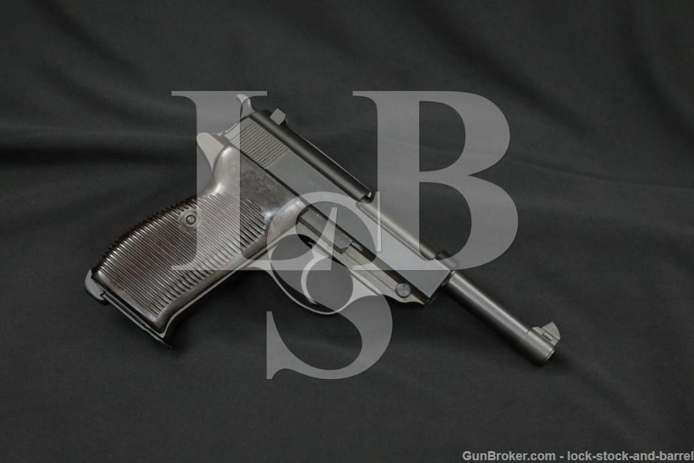 WWII Nazi German Mauser byf 43 P.38 P-38 P38 9mm Semi-Auto Pistol, 1943 C&R