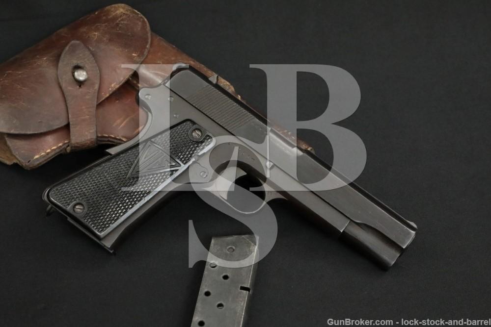 WWII Nazi Occupied F.B. Radom VIS Model P.35 (p) 9mm Semi-Auto Pistol, C&R