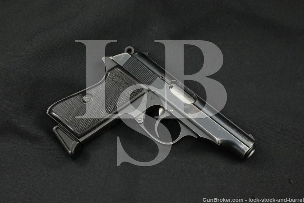 Walther RFV R.F.V. Marked PP .32 ACP/7.65mm Semi-Automatic Pistol, 1935 C&R