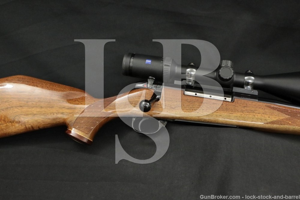 """Weatherby Model Mark V 257 Wby Mag 24"""" Zeiss Scope Bolt Rifle MFD 1974-1981"""