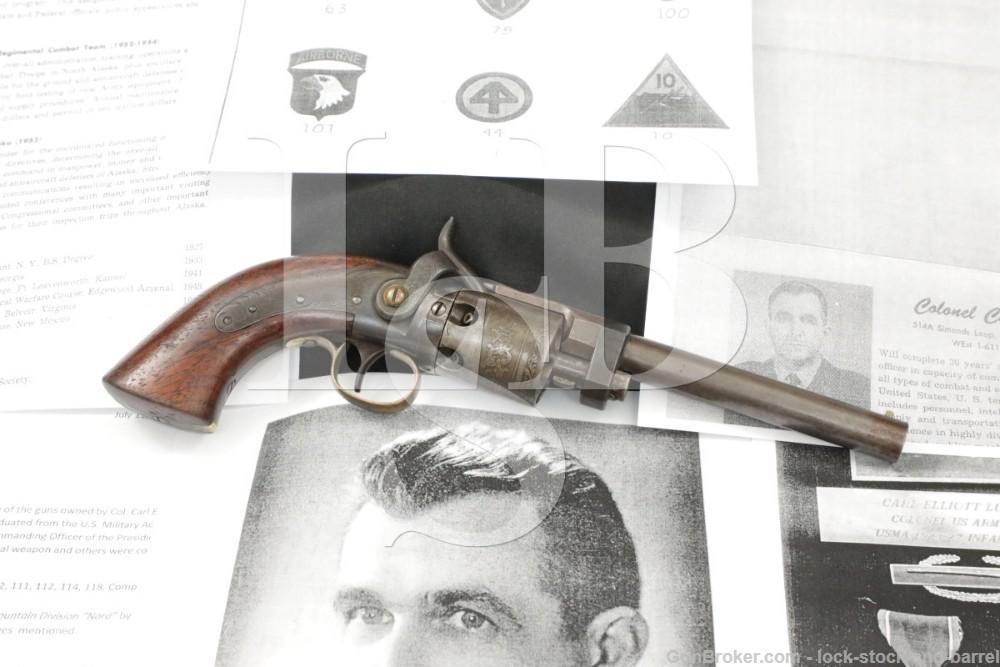 Wesson & Leavitt .32 Caliber Engraved Percussion Revolver 1850-1851 Antique