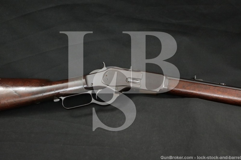 """Winchester 1873 3rd Model 24"""" Octagonal Lever Action Rifle MFD 1893 Antique"""