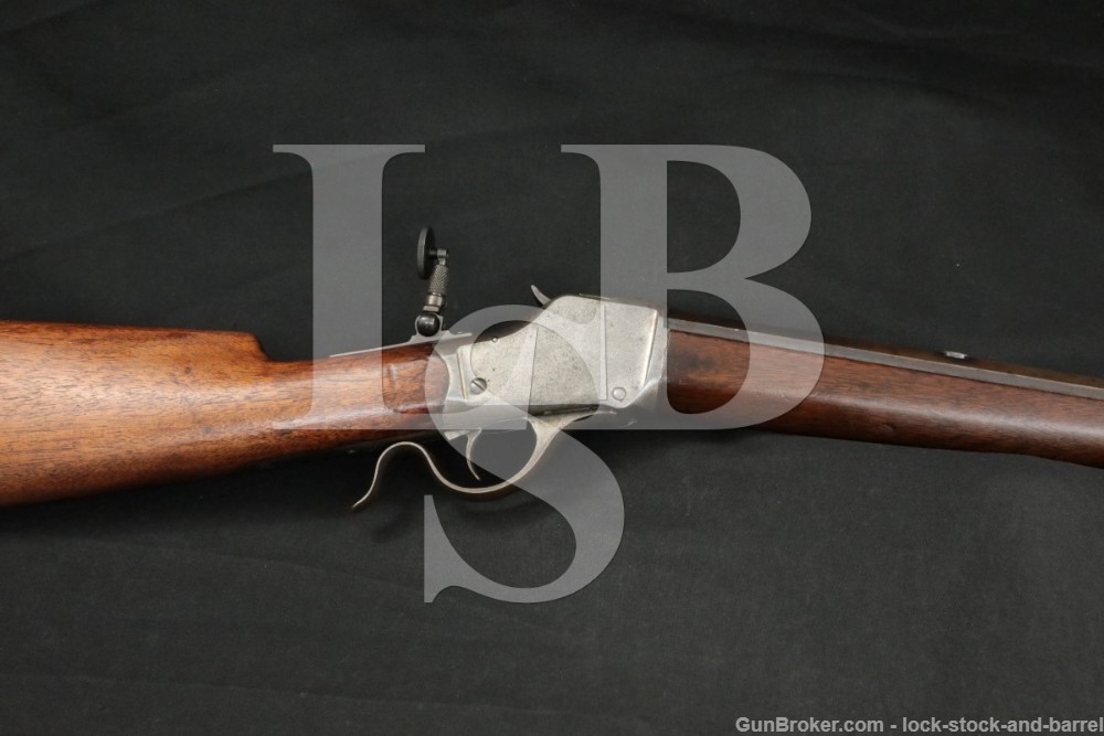 "Winchester Model 1885 High Wall, .40-82 WCF 30"" Rifle, #3 BBL, MFD 1891"