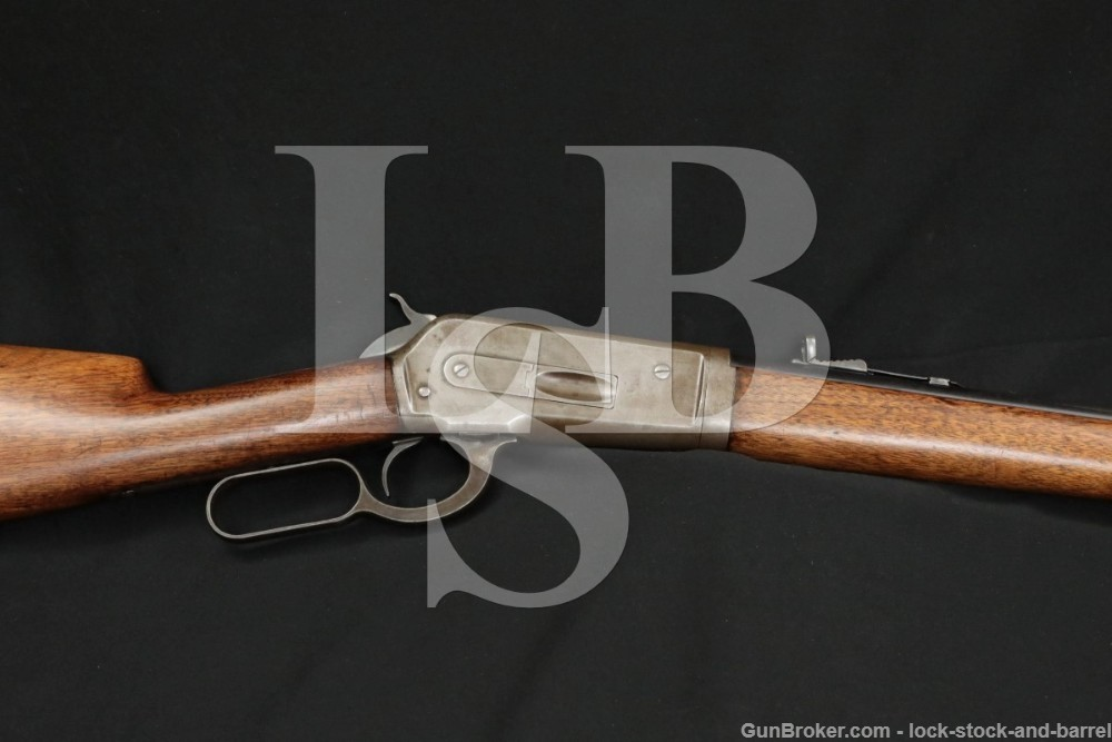 Winchester Model 1886 Takedown 24″ .33 WCF Lever Action Rifle, MFD 1919 C&R
