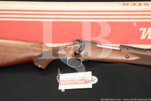 "Winchester Model 70 Super Express .375 H&H Mag 24"" Bolt Rifle MFD 1981-1982"