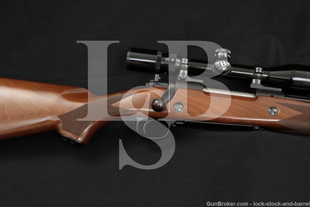 "Winchester Model 70 Super Express .375 H&H Mag 24"" Bolt Rifle MFD 1988-1989"