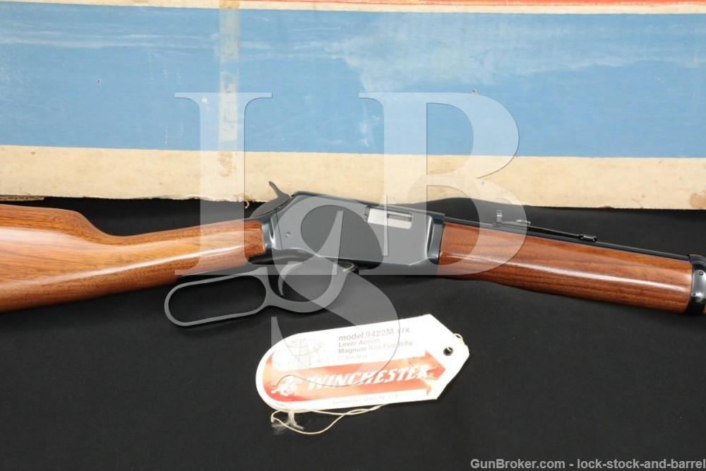 Winchester Model 9422M XTR .22 WMRF Magnum Lever Action Rifle & Box, 1972