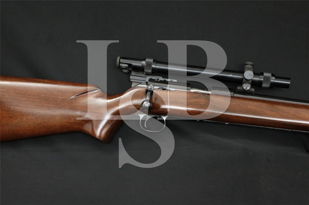 Winchester Model 52D 52-D Target .22 LR Single Shot Bolt Rifle, 1961 C&R