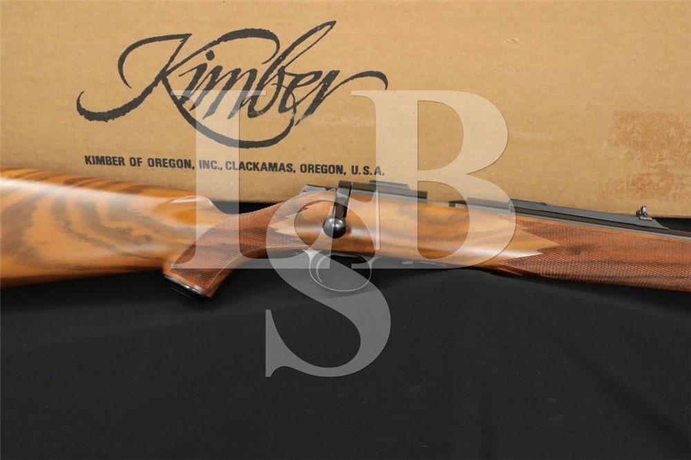Kimber Model 82 Super American .22 LR Bolt Action Rifle & Box MFD Ca. 1983