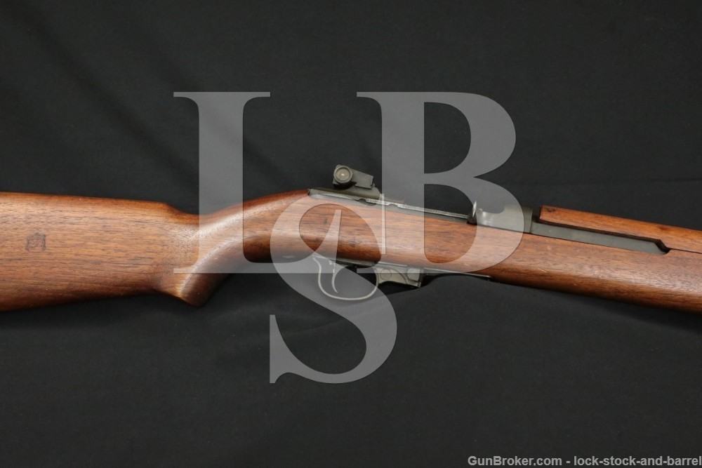 Standard Products M1 Carbine .30 Matching Semi Automatic Rifle MFD 1943 C&R