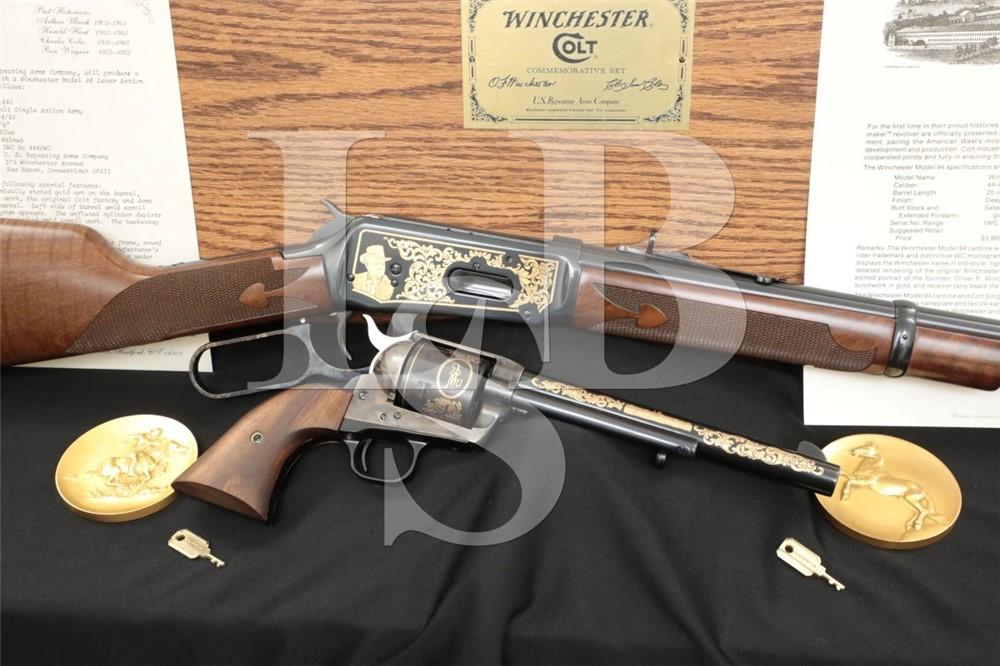 Winchester Colt Commemorative Set SAA 1894 .44-40 Rifle & Revolver 1984 C&R