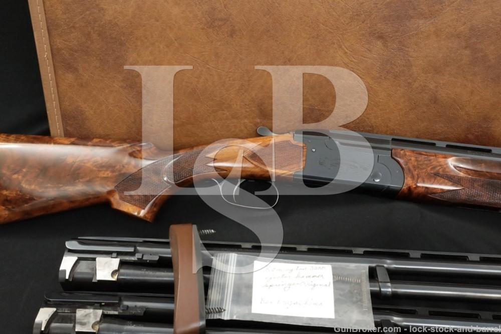 """Remington 3200 Competition Skeet 4 Barrel Set 12 20 28 .410 GA 28"""" Shotgun"""