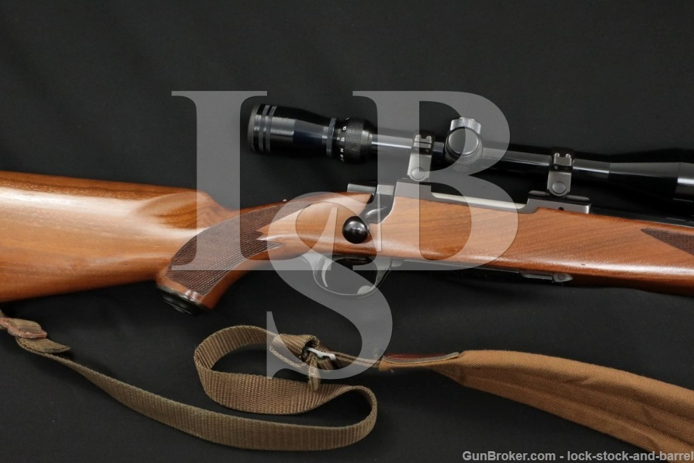 Ruger M77 M-77 M 77 00786 .220 Swift Scope Sling Bolt Action Rifle MFD 1978